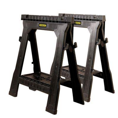 2 pk Folding Sawhorses