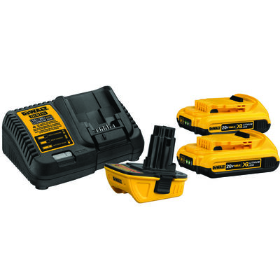 DeWalt XR Lithium-Ion Battery Charger Kit 20 max volts