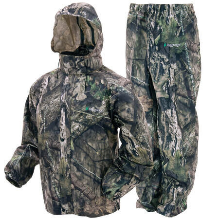Frogg Toggs Rain Suit Mossy Oak Country Camo Size X-Large