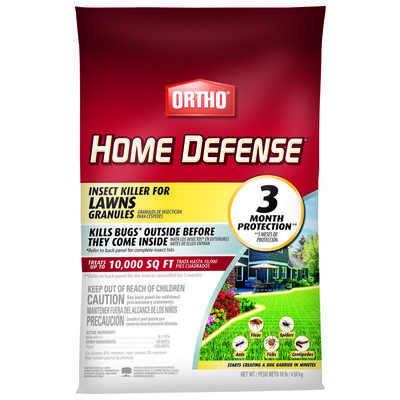 Ortho Home Defense for Lawns Insect Killer For Fleas Spiders and More 10 lb.