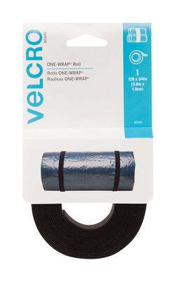 Velcro 12 ft. L x 3/4 in. W Strap 1 pk