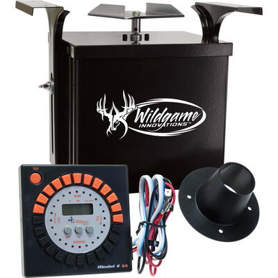 Wildgame Innovations 6V Analog Power Control Unit for Feeder (Black)