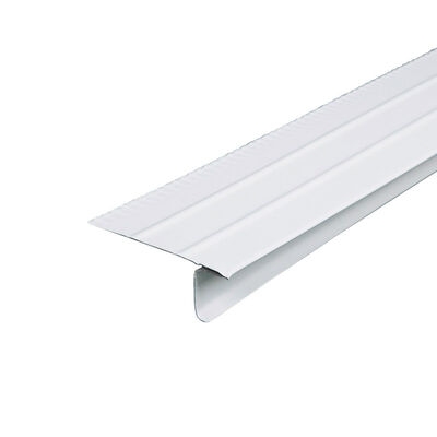 Amerimax Galvanized Steel Drip Edges White 1 in. H x 10 ft. L x 2-7/16 in. W Roof Flashing