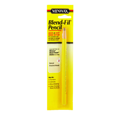 Minwax Blend-Fil No. 2 Wood Pencil Wood Natural Bleached