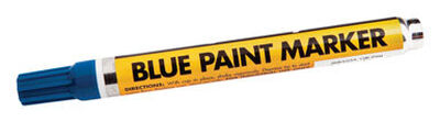 Forney Permanent Paint Marker Blue