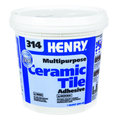 Henry 314 Multipurpose Ceramic Tile Adhesive 1 qt.