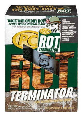 PC-Rot Terminator Amber Epoxy Wood Hardener 24 oz.