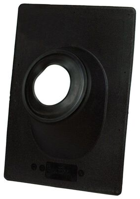 Oatey No-Calk Thermoplastic Roof Flashing Black 16 in. H x 16 in. L x 12 in. W Roof