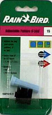 Rain Bird Adjustable 0-360 degrees Spray Nozzle PVC