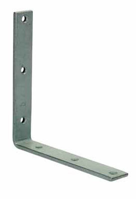 Ace Inside L Corner Brace 8 in. x 1-1/4 in. Galvanized Steel