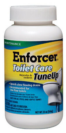 Enforcer Toilet Care Tune Up Granular Drain Cleaner 20 oz.