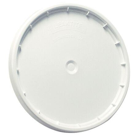 Leaktite White 5 gal. Plastic Bucket Lid