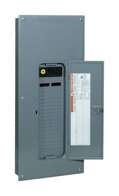 Square D QO 200 amps 42 space 42 circuits 120/240 volts Plug-In Single Pole Main Breaker Load Ce