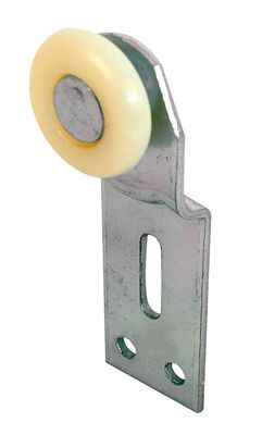 Prime-Line 1 in. Dia. Plastic/Steel Wardrobe Door Roller Assembly 2