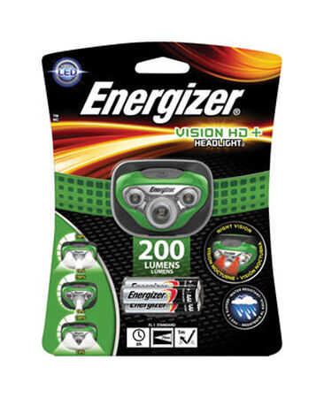 Energizer Vision 225 lumens Headlight LED AAA Green
