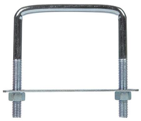 Hampton 3-3/4 in. W x 4 in. L Zinc Plated Steel Lumber Size Square Bend U-Bolt