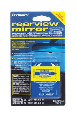 Permatex Liquid Automotive Mirror Adhesive .01 oz.