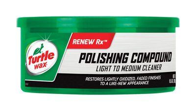 Turtle Wax Polishing Compound Paste Automobile Polish 10.5 oz.