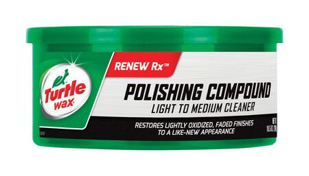 Turtle Wax Polishing Compound Paste Automobile Polish 10.5 oz.