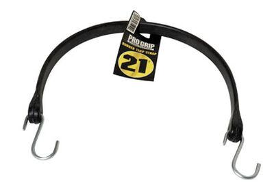Keeper 24 in. L S Hooks Black Rubber Tarp Strap