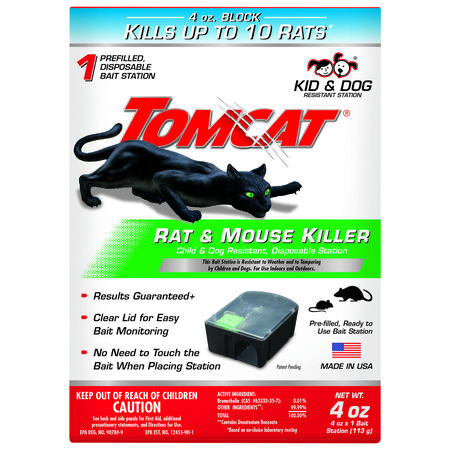 Tomcat Disposable Bait Station For Rats & Mice 1 pk
