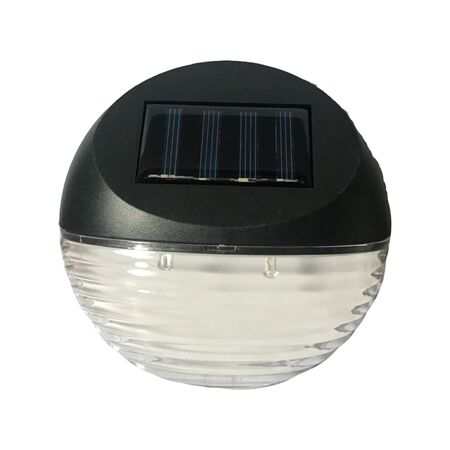 Living Accents Black Solar Powered LED Utility Light 1 pk