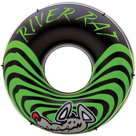 Intex River Rat Black/Green Vinyl Inflatable Tube