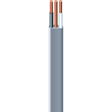 Southwire 50 ft. 14/2 Type UF-B WG Underground Feeder Cable Gray
