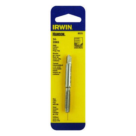Irwin Hanson High Carbon Steel 14-20NS SAE Plug Tap 1 pc.