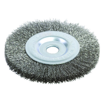 Forney 4 in. Dia. Coarse Crimped 1/2 in. Wire Wheel Brush 6000 rpm