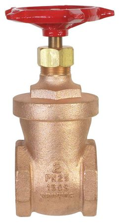 B & K 2 in. Dia. Bronze Gate Valve