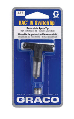 Graco Airless Spray Switch Tip 8 in.-10 in. 0.12 gpm 0.011 in.