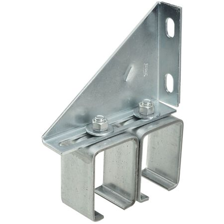 Stanley Steel Double Box Rail Brackets 5-3/4 in. W x 1-3/4 L 1