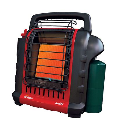 Mr. Heater Buddy Radiant Propane Portable Heater 250 sq. ft. Black