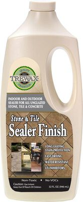 Trewax Stone and Tile Sealer Finish Acrylic Urethane 32 oz.