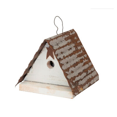 Home Bazaar 7 in. H Wood Birdhouse