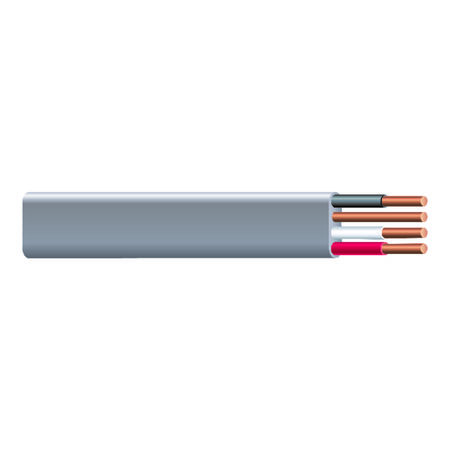 Southwire 250 ft. 10/3 Type UF-B WG Underground Feeder Cable Gray