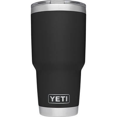 YETI Rambler Travel Black 1 pk 30 oz. Insulated Tumbler w/Lid