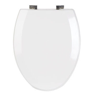 Mayfair Wood Toilet Seat Elongated White