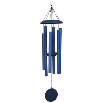 "Corinthian Bells, 36"" Midnight Blue Windchime"
