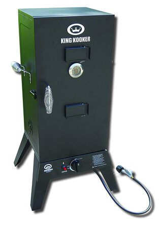 "King Kooker 2113-Low Pressure Smoker with 30"" Cabinet"