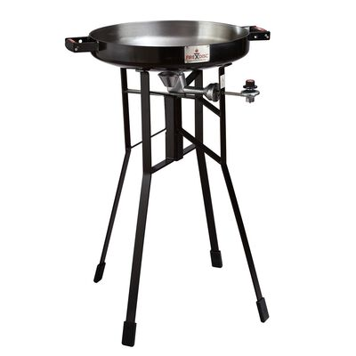 FireDisc Grills Portable Propane Outdoor Cooker Black 36 in. H