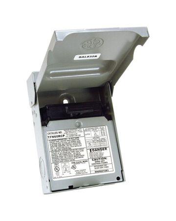 GE Non-Fusible/Double Pole 60 amps AC Disconnect