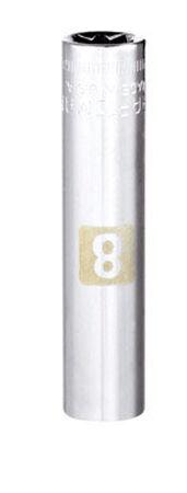 Craftsman 8 Alloy Steel Deep Socket 1/4 in. Drive in. drive