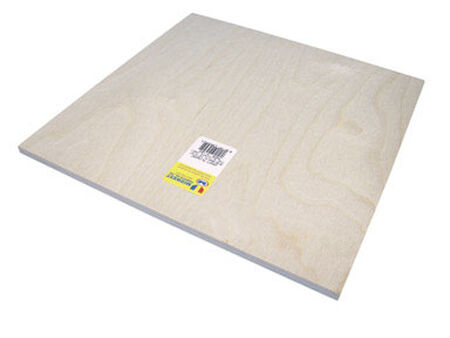 Midwest Products 3/8 in. x 1 in. W x 1 in. L Plywood Plywood