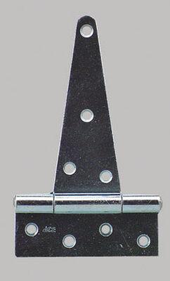 Ace Steel Heavy Duty T Hinge 6 in. L Zinc 1 pk