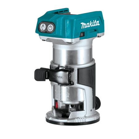 Makita 18V LXT® Lithium?Ion Brushless Cordless Compact Router, Tool Only