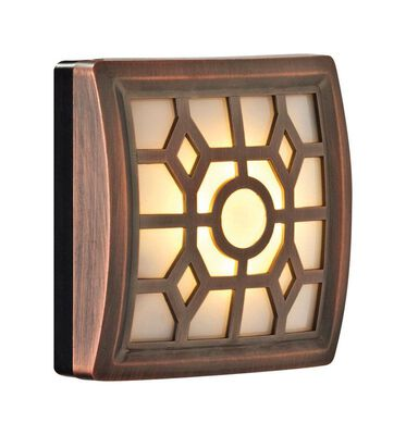 Light It LED Motion Sensor Light 3 AAA Bronze