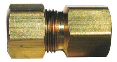 Ace 1/4 in. FPT Dia. x 1/4 in. FPT Dia. Brass Compression Connector