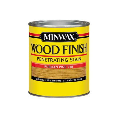 Minwax Wood Finish Transparent Oil-Based Wood Stain Puritan Pine 1 qt.